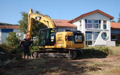 Baustellenführung